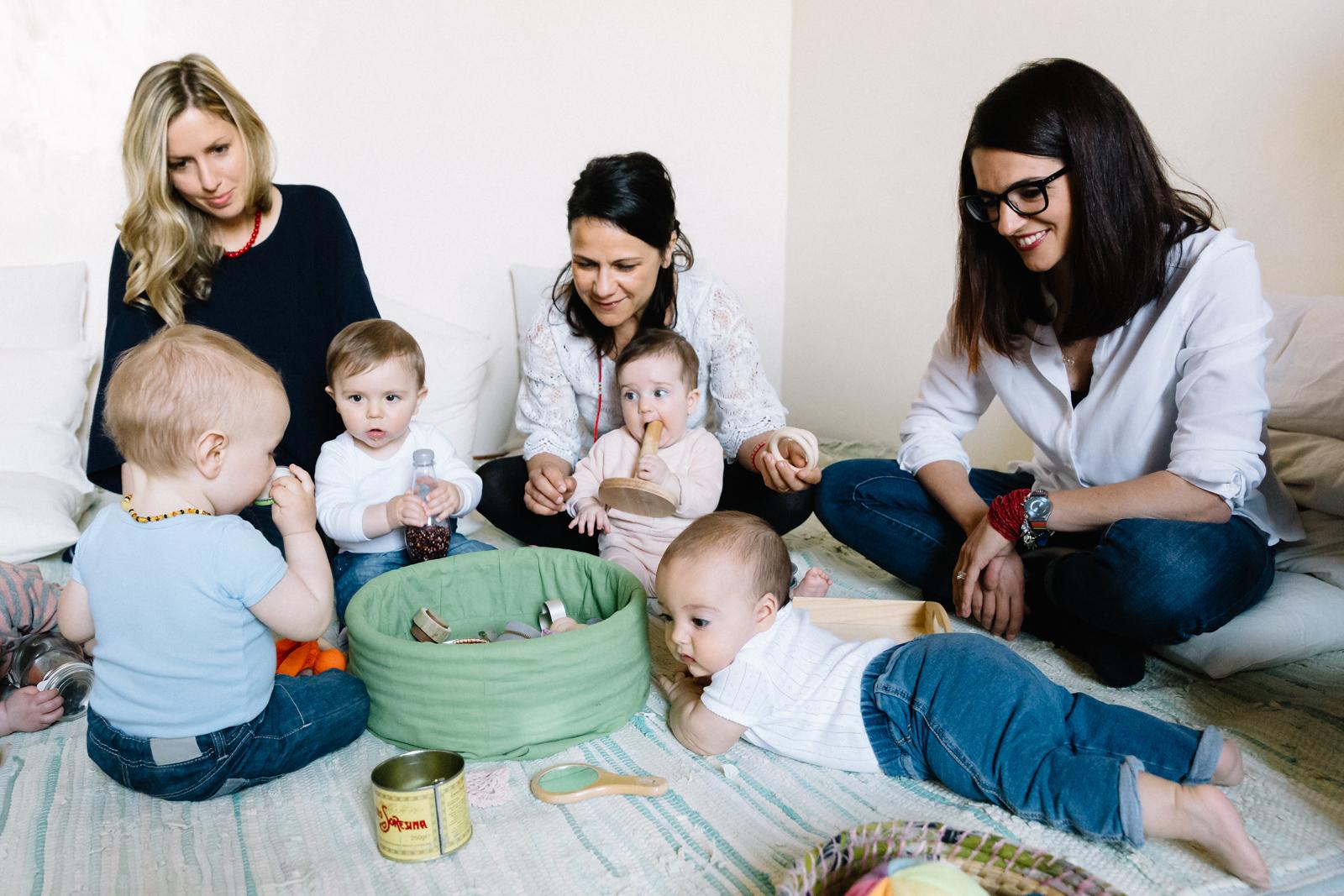 Crescere insieme - dai 6 ai 12 mesi