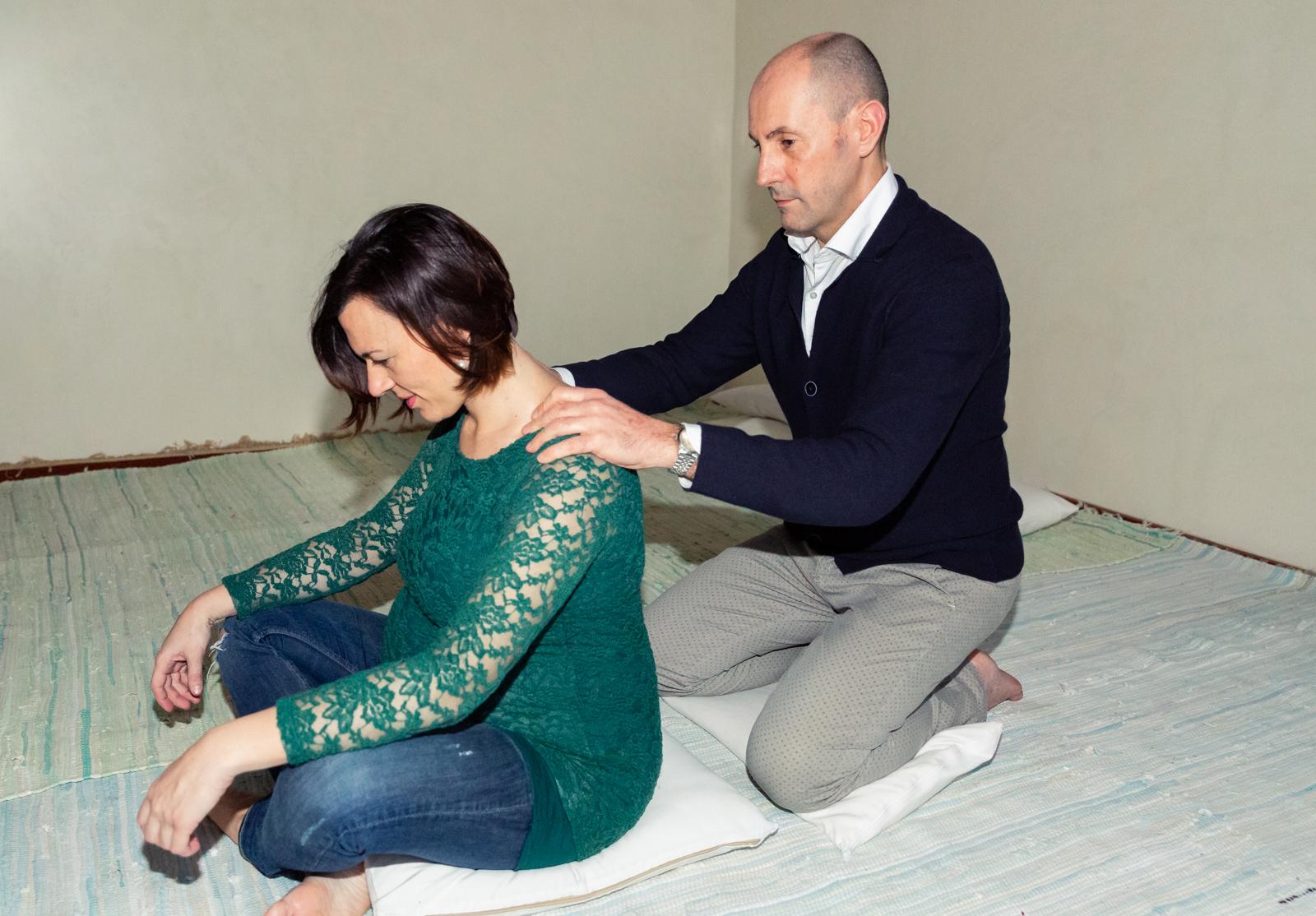 Sostegno e massaggio in travaglio di coppia